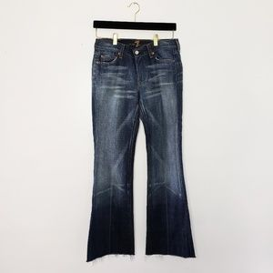7 for all mankind flared jeans 27